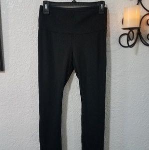 WHBM Solution Ponte black leggings